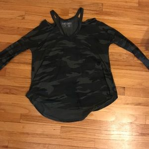 Camp cut out top